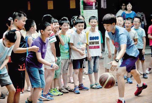 快乐暑假 篮球相伴