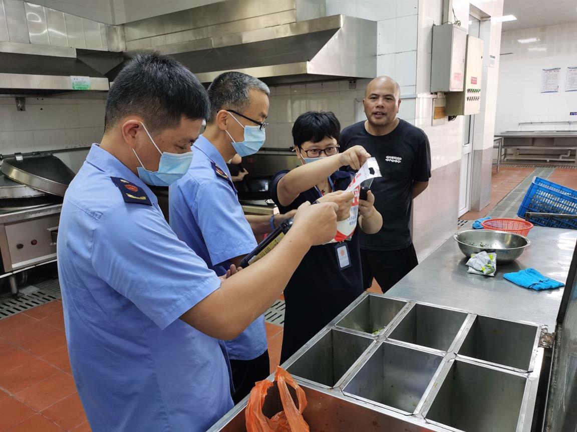 嘉善姚庄开展食品安全专项检查 护航美丽城镇建设——浙江在线
